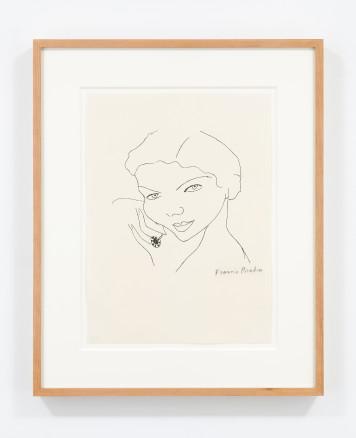 Untitled (Visage du Femme), 1952