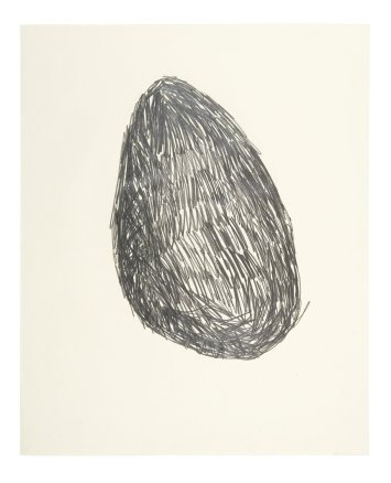Untitled (Drawing for Lump of Chalk), 1979