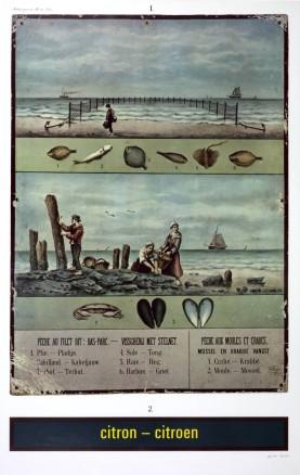 Citron-Citroen, réclame pour la Mer du Nord (Advertisement for the North Sea), 1974
