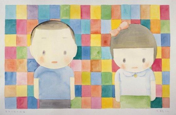 Coloured Checkers Composition, 2006
