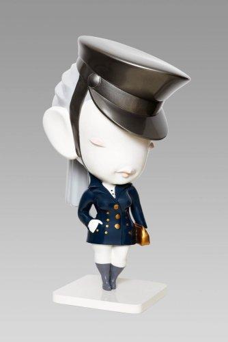 Regimented Chic (Navy Blue), 2011