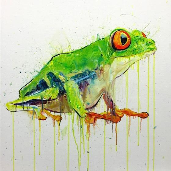 Tree Frog I, 2015