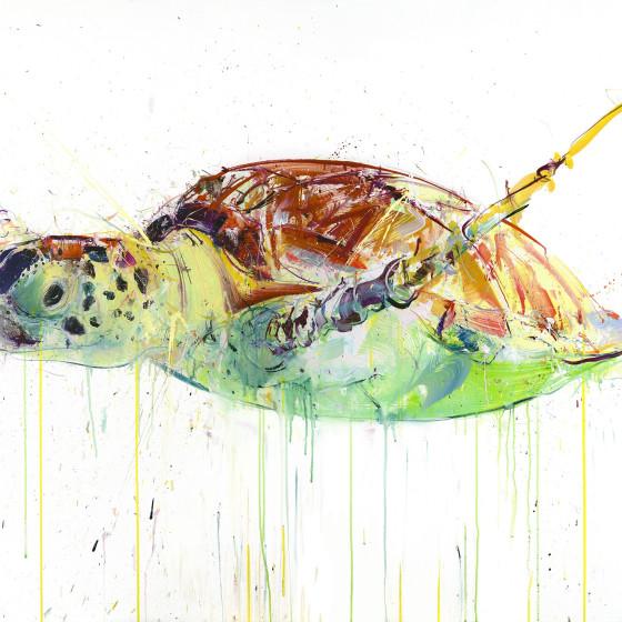Sea Turtle I, 2017