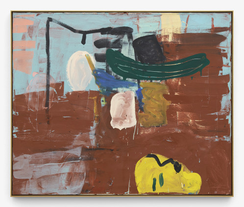 Roy Oxlade Yellow Profile, 1992 Oil on canvas 100 x 120 cm, 39 3/8 x 47 1/4 ins 102.7 x 122.7 cm, 40 3/8 x 48 1/4 ins, framed