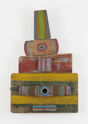 Betty Parsons Sultan, 1978 Acrylic on wood 103 x 69 x 7 cm, 40 1/2 x 27 1/8 x 2 3/4 ins Unique Signed and titled on verso