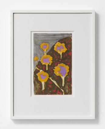 Betty Parsons Turkey, 1970 Marker on paper 20.6 x 12.7 cm, 8 1/8 x 5 ins 36.9 x 28.6 cm, 14 1/2 x 11 1/4 ins, framed