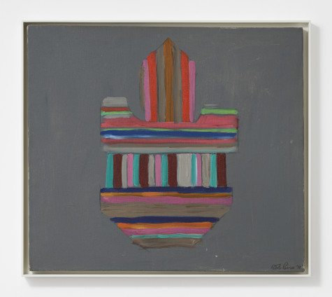 Betty Parsons Radiant Reach, 1978 Acrylic on canvas 63.5 x 71.1 cm, 25 x 28 ins 66.2 x 75 cm, 26 1/8 x 29 1/2 ins, framed Signed and dated on recto