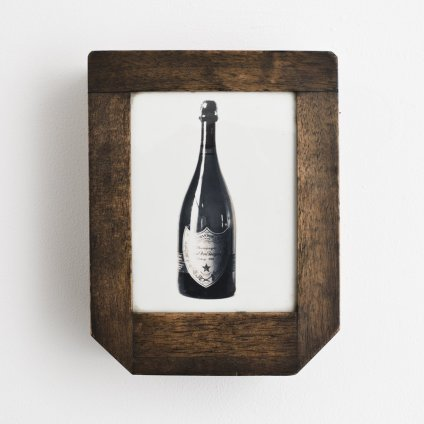 Robert Mapplethorpe Untitled (Dom Perignon Box), c. 1974 Mixed media 6.8 x 5 x 2.5 cms / 2 5/8 x 2 x 1 ins Unique Accompanied by Certificate of Authenticity from The Robert Mapplethorpe Foundation