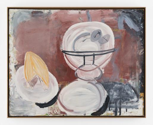 Roy Oxlade Pedestal Dish, 1996 Oil on canvas 81 x 102 cm, 31 7/8 x 40 1/8 ins 84.2 x 104.4 cm, 33 1/8 x 41 1/8 ins, framed Signed