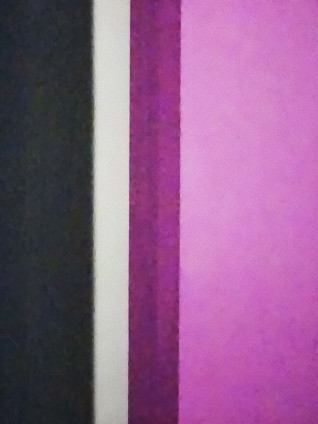 Kitty Chou, Pink, Grey, Wine & White #1, 2016