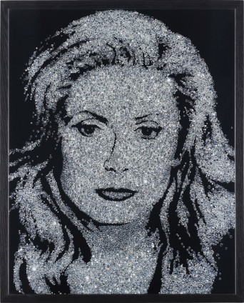 Vik Muniz, Catherine Deneuve (Pictures of Diamonds), 2004