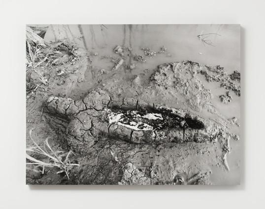 Ana Mendieta Birth, 1981 / 2013 Black and white photograph 76.2 x 101.6 cm, 30 x 40 ins Edition 2/6