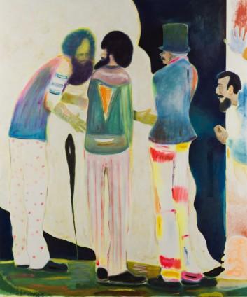 Ryan Mosley  Bacchanal Poetics, 2016  Oil on canvas  220 x 185 cm, 86 5/8 x 72 7/8 ins