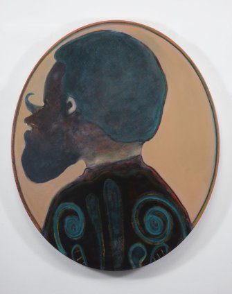Ryan Mosley  Primitive Ancestry XVII, 2011  Oil on linen on board  100 x 120 cm 39 3/8 x 47 1/4 in