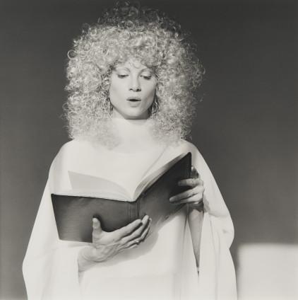 Robert Mapplethorpe  Lisa Lyon, 1982  Silver Gelatin Print  50.8 x 40.6 cm, 20 x 16 ins paper size  Edition 3/10