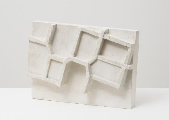Branko Vlahović  Skulptura III, 1963  Plaster  25.5 x 35 x 14 cm, 10 1/8 x 13 3/4 x 5 1/2 ins  Unique
