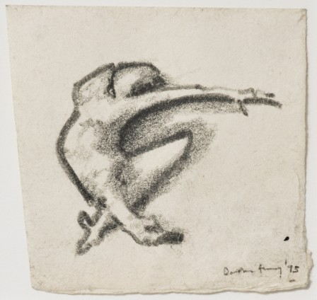 Dorothea Tanning Untitled, 1975 Graphite on paper 12.7 x 13.3 cm, 5 x 5 1/4 ins 36.9 x 35.5 cm, 14 1/2 x 14 ins, framed Signed 'Dorothea Tanning '75' (lower right) Inscribed on verso '7'
