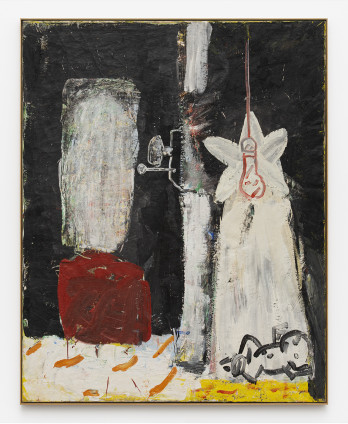 Roy Oxlade Untitled, c. 1981 Oil on canvas 152.5 x 121.4 cm, 60 1/8 x 47 3/4 ins 154.7 x 124 cm, 60 7/8 x 48 7/8 ins, framed