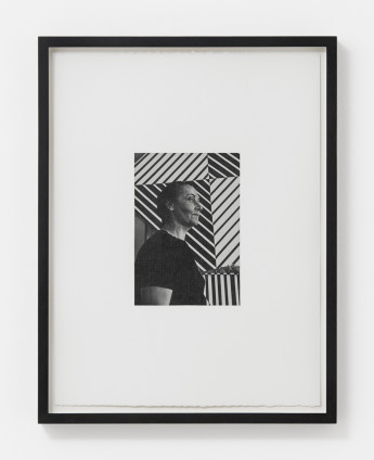 Dan Fischer Carmen Herrera, 2018 Graphite on paper 17.5 x 12.1 cm, 6 7/8 x 4 3/4 ins 20 x 15.3 cm, 7 7/8 x 6 1/8 ins, framed