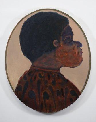 Ryan Mosley  Primitive Ancestry XVI, 2011  Oil on linen on board  100 x 120 cm 39 3/8 x 47 1/4 in