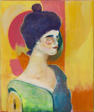 Ryan Mosley  Porcelina, 2016  Oil on canvas on aluminium  65 x 55 cm, 25 5/8 x 21 5/8 ins
