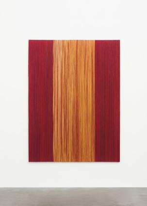 Sheila Hicks Langue d'oiseau II, 2016-2017 Linen 200 x 150 cm, 78 3/4 x 59 1/8 ins