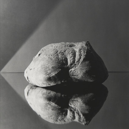 Robert Mapplethorpe  Bread, 1979  Silver Gelatin Print  50.8 x 40.6 cm, 20 x 16 ins, paper size  73.3 x 60.1 cm, 28 7/8 x 23 5/8 ins, framed  Printed in 2008