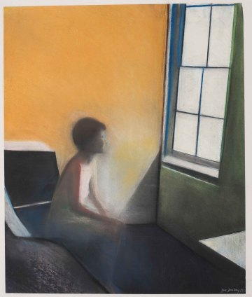 Sue Dunkley  Untitled, 1980  Pastel on paper  61 x 51 cm, 24 1/8 x 20 1/8 ins, paper size  76 x 63 cm, 29 7/8 x 24 3/4 ins, framed  Signed lower right and dated