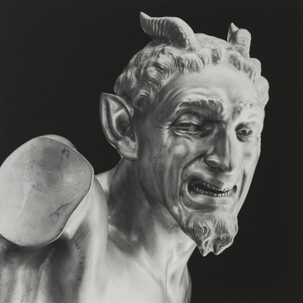 Robert Mapplethorpe  Italian Devil, 1988  Silver Gelatin Print  61 x 50.8 cm, 24 x 20 ins paper size 83.8 x 70.9 cm, 33 x 27 7/8 ins framed  AP 1/2 from an Edition of 10 + 2 APs