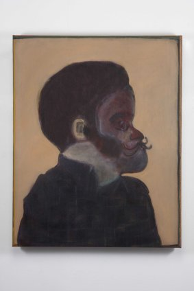 Ryan Mosley  New Lord, 2011  Oil on linen  100 x 80 cm 39 3/8 x 31 1/2 in