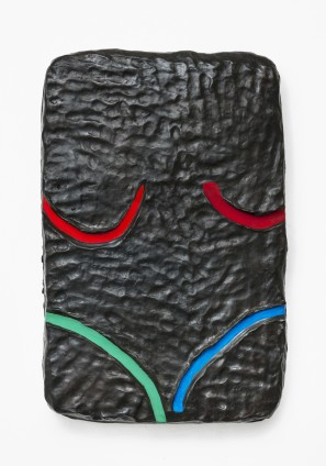 Erika Verzutti Bikini, 2015 Bronze and acrylic 61 x 40 x 9 cm, 24 1/8 x 15 3/4 x 3 1/2 ins Edition 2/3 + 1AP