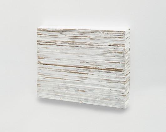 Fernanda Gomes Untitled, 2017 Wood, paint 83.4 x 60 x 3.5 cm, 32 7/8 x 23 5/8 x 1 3/8 ins Unique