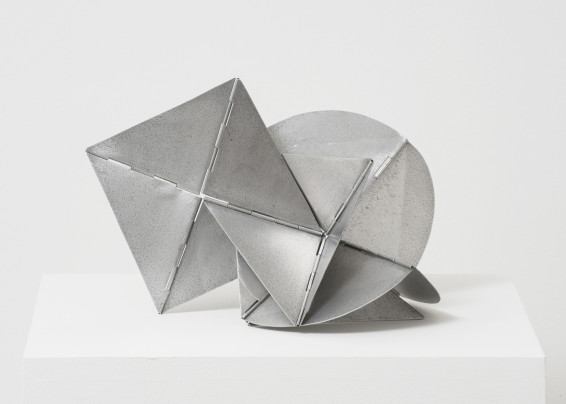 Lygia Clark Bicho, 1960 Aluminum 20 x 33 x 18 cm, 7 7/8 x 13 x 7 1/8 ins Dimensions variable Unique (maquette)