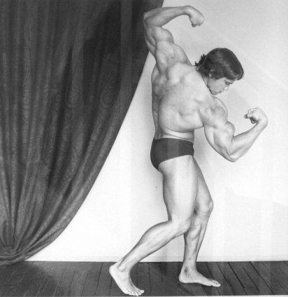 Robert Mapplethorpe  Arnold Schwarzenegger, 1976  Silver gelatin print  40.7 x 50.8 cm/16 x 20 ins  edition 3 of 5