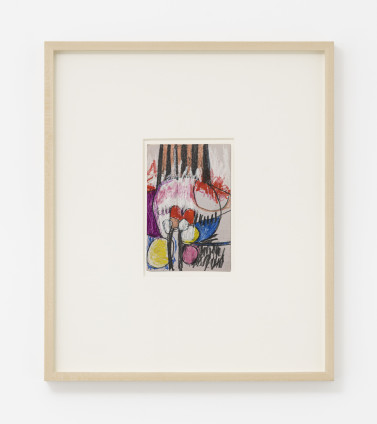 Hannah Wilke  Untitled, c. 1964-66  Pastel and graphite on card  16.5 x 11.4 cm, 6 1/2 x 4 1/2 ins, paper size  44 x 37.8 x 4 cm / 17 3/8 x 14 7/8 x 1 5/8 ins, framed  not signed