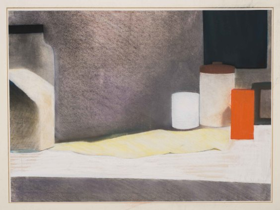 Sue Dunkley  Untitled, 1980  Pastel on paper  54 x 73 cm, 21 1/4 x 28 3/4 ins, paper size  68 x 82 cm, 26 3/4 x 32 1/4 ins, framed  Signed lower right and dated