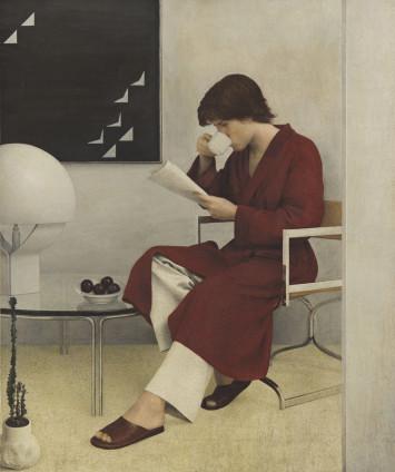 Graham Little Untitled, 2018 Gouache on paper 35.9 x 29.2 cm, 14 1/8 x 11 1/2 ins 65.1 x 57.5 cm, 25 5/8 x 22 5/8 ins, framed On verso