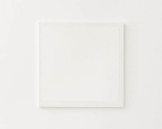 Fernanda Gomes  Untitled, 2017  Wood, paint and canvas  30.3 x 30 x 5 cm, 11 7/8 x 11 3/4 x 2 ins