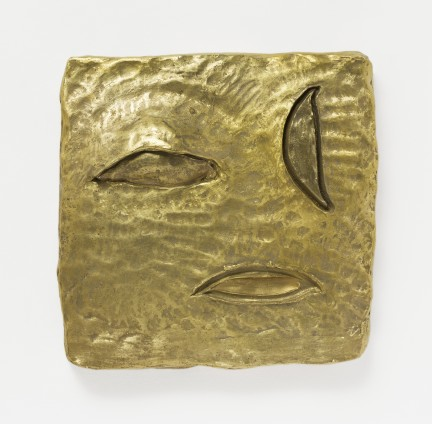 Erika Verzutti  Star Without Makeup, 2015  Bronze and wax  40 x 40 x 9 cm, 15 3/4 x 15 3/4 x 3 1/2 ins  Edition 1/3 + 1AP