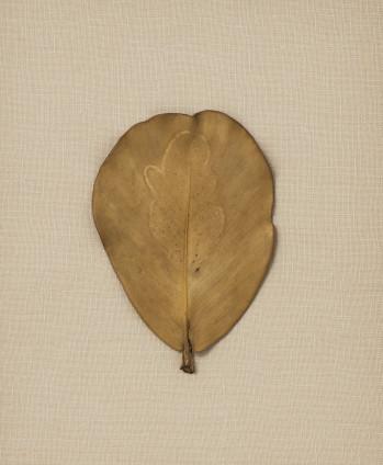 Ana Mendieta Untitled, 1982 Drawing on leaf 13 x 9.2 cm, 5 1/8 x 3 1/2 ins 30.5 x 26.7 x 6.4 cm, 12 x 10 1/2 x 2 1/2 ins, framed Unique