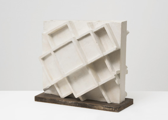 Branko Vlahović  Skulptura VI, 1963  Plaster  32 x 34 x 21 cm, 12 5/8 x 13 3/8 x 8 1/4 ins  Unique
