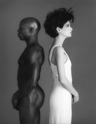 Robert Mapplethorpe Jill Chapman and Ken Moody, 1983 Silver Gelatin print, framed Unframed: 50.8 x 40.6 cm / 20 x 16 ins Framed: 73.7 x 60.6 cm / 29 1/8 x 23 Edition 4/10 Stamped and Signed by The Robert Mapplethorpe Estate