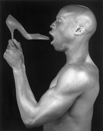 Robert Mapplethorpe Ken Moody, 1985 Silver Gelatin print, framed Unframed: 50.8 x 40.6 cm / 20 x 16 ins Framed: 73.7 x 60.6 cm / 29 1/8 x 23 Edition 7/10 Stamped and Signed by The Robert Mapplethorpe Estate, Printed in 2013