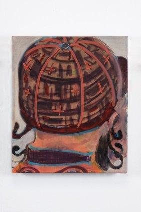 Ryan Mosley  Jockey, 2011  Oil On linen  35 x 30.5 cm 13 3/4 x 12 1/8 in