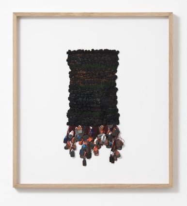 Sheila Hicks Bielefeed, 2013 Signed and dated on verso Cotton, silk, paper 30 x 15 cm / 11 3/4 x 5 7/8 ins