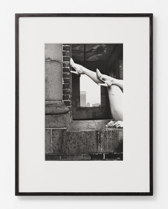 Hannah Wilke So Help Me Hannah, 1978 Black and white photograph 32.8 x 22 cm, 12 7/8 x 8 5/8 ins, paper size 50.6 x 38.2 cm, 19 7/8 x 15 1/8 ins, framed