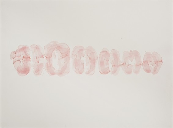 Hannah Wilke Untitled, c. 1970s Watercolour on paper Unframed: 55.9 x 76.2 cm / 22 x 30 ins Framed: 80.2 x 98.5 cm / 31 5/8 x 38 3/4 ins