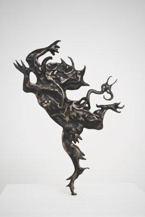 Mathew Weir  Exorcism, 2013  Bronze  36 x 25 x 1.5 cm 14 1/8 x 9 7/8 x 5/8 ins
