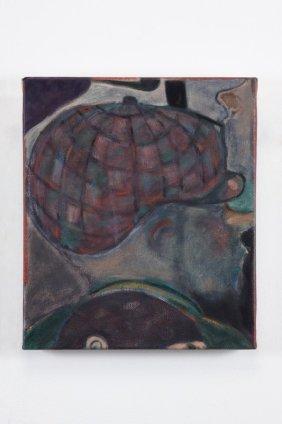 Ryan Mosley  Smoking Den, 2011  Oil on linen  35 x 30.5 cm 13 3/4 x 12 1/8 in