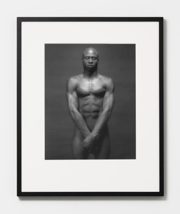 Robert Mapplethorpe  Ken Moody, 1983  Silver Gelatin Print  50.8 x 40.6 cm, 20 x 16 ins, paper size  81.6 x 68.6 cm, 32 1/8 x 27 ins, framed  AP 1/2 from an Edition of 10 +2APs  Printed in 1993